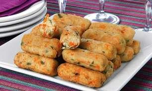 Receitas de croquete vegetariano para experimentar