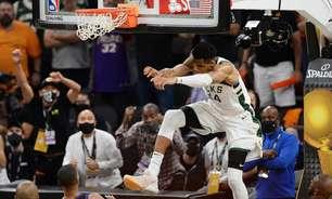 Antetokounmpo admite alívio por título da NBA com os Bucks