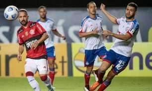 Flamengo goleia Bahia por 5 a 0 e chega ao G6 do campeonato