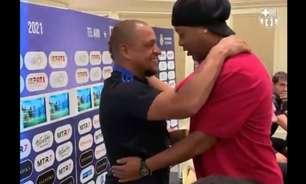 Barcelona e Real reúnem Ronaldinho, Deco e Rivaldo em Israel