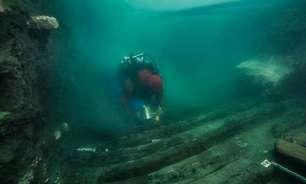 Egito encontra antigo navio militar em cidade submersa