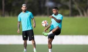 Douglas Luiz: diferença de posicionamento de Tite e Jardine