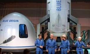 O voo de foguete de Jeff Bezos que impulsiona turismo espacial: 'Melhor dia da vida'
