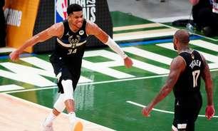 Bucks vencem os Suns com show de Giannis e conquistam a NBA