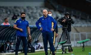 Mozart diz achar natural caso seja demitido do Cruzeiro: 'Se vou ficar ou não, dependerá da diretoria'