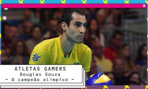 Gamer, Douglas Souza é a nova cara do vôlei brasileiro