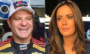 Rubinho Barrichello e Paloma Tocci terminam relacionamento