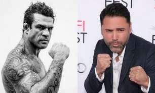 Antes uma exibição, luta de Boxe entre Vitor Belfort e Oscar de La Hoya agora terá caráter profissional