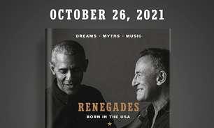 Barack Obama e Bruce Springsteen lançam livro conjunto