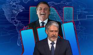 Pela primeira vez em quase 1 ano, 'JN' dá razão a Bolsonaro