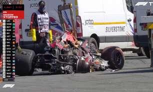 Red Bull revela prejuízo de R$ 9 milhões com acidente de Verstappen na Inglaterra