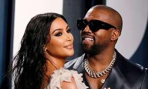 "Kim Kardashian se junta a Kanye West para lançamento do álbum ""Donda"""
