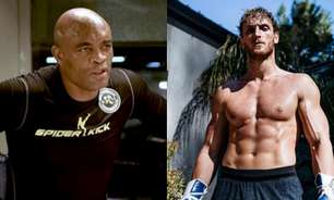 Anderson Silva e Logan Paul estão em negociação para luta no Boxe; 'Spider' é azarão nas apostas