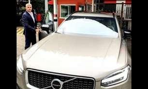 Carro de Hernán Crespo e costume europeu; São Paulo estabelece parceria com marca de carros