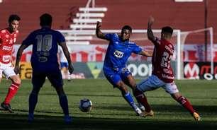 'Perdido' em campo, Cruzeiro empata com o Vila Nova e segue na zona do rebaixamento da Série B
