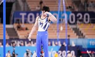 Queda encerra a carreira do maior ginasta de todos os tempos