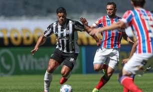 Veja os gols da vitória do Galo sobre o Bahia pelo Brasileirão