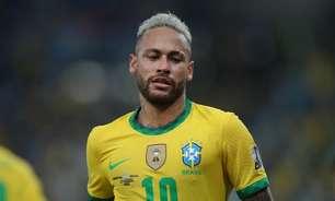 Neymar dá sinais de tédio com a Seleção e com o futebol