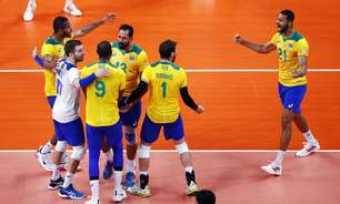 Brasil reage após levar 2 a 0 e vence Argentina no tie-break