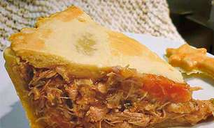 Torta de frango à moda antiga