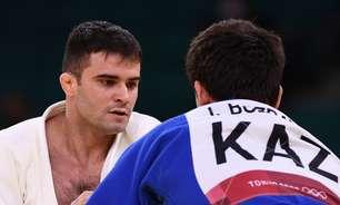 Rafael Macedo leva ippon no início e dá adeus à Olimpíada
