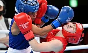 Graziele Sousa perde para japonesa e é eliminada do boxe