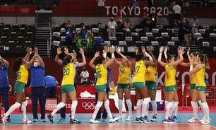 Seleção feminina de vôlei vence Japão e perde Macris