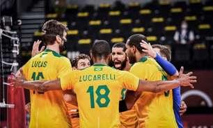 Brasil bate os Estados Unidos de virada e se classifica no vôlei masculino nos Jogos Olímpicos