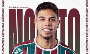 Fluminense anuncia a contratação de Nonato, ex-Internacional