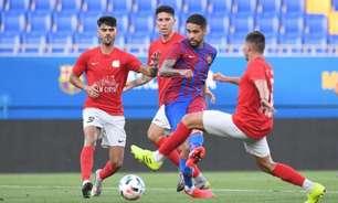 Matheus Pereira comemora estreia no Barcelona com gol: 'Trabalhando muito para ter mais chances'