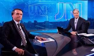 Mesmo ofendido, Bonner mede palavras ao desmentir Bolsonaro