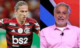 Sormani diz que Felipe Luís 'não casa com a proposta do Flamengo' e indica substituto ideal