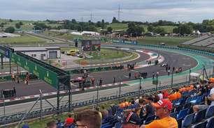 Sábado tem chance reduzida de chuva durante classificação da Fórmula 1 na Hungria
