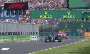 Cena inédita na F1: Hamilton larga sozinho no grid em vacilo da Mercedes na Hungria