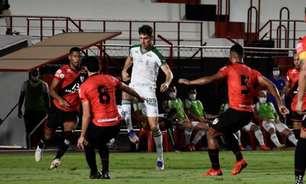 Em duelo equilibrado, Atlético-GO e América-MG empatam