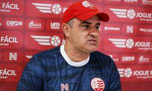 Marcelo Chamusca assume preocupação com ataque do Náutico