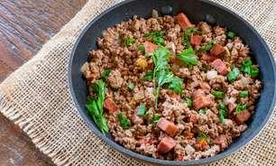6 receitas saborosas com carne moída para fazer em até 1 hora
