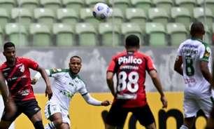 Veja os gols de América-MG e Athletico-PR pela Série A