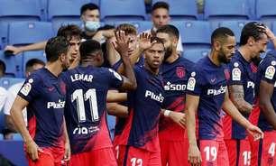Atlético de Madrid sai atrás, mas consegue virada no fim