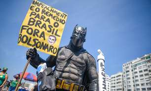 No Rio, ato pede pelo impeachment de Jair Bolsonaro