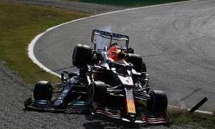 "Hamilton se espanta com atitude de Verstappen após incidente: ""Surpreendente"""