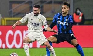 Inter de Milão x Real Madrid: onde assistir, horário e escalações do jogo da Champions League