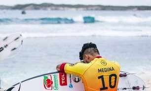 Medina vence Filipinho e é tricampeão mundial de surfe