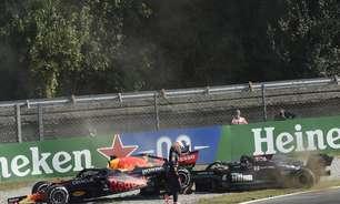 Verstappen explica por que não parou para ver Hamilton após incidente na Itália