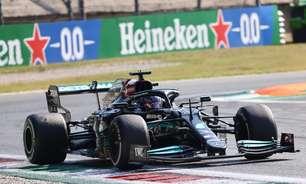 """Mercedes abre possibilidade de não trocar motor de Hamilton: """"Ainda sem necessidade"""""""