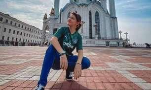 Conheça a história da garotinha russa que se apaixonou pelo Palmeiras e sonha em visitar o Allianz