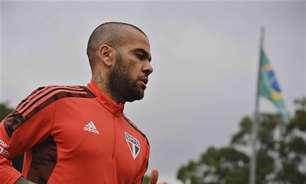 São Paulo encaminha rescisão de contrato com Daniel Alves