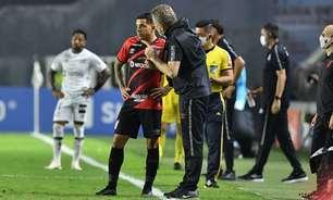 Vitória contra o Santos quebrou jejum do Athletico na temporada