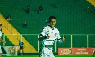 Paolo, do Figueirense, comemora gols em vitória pela Copa Santa Catarina: 'Muito feliz com o momento'
