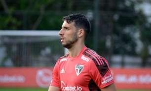 São Paulo relaciona Calleri para enfrentar o Atlético-GO